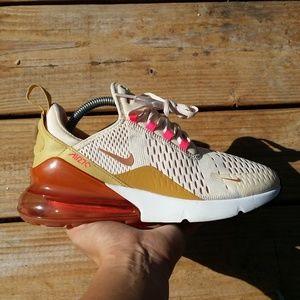 Nike Air Max 270 Cream Tint Athletic Walking Shoes